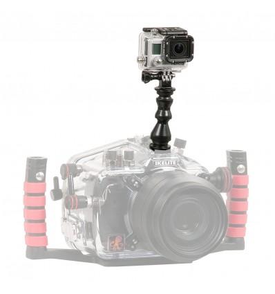 GoPro adapter til montering på Ikelite DSLR hus