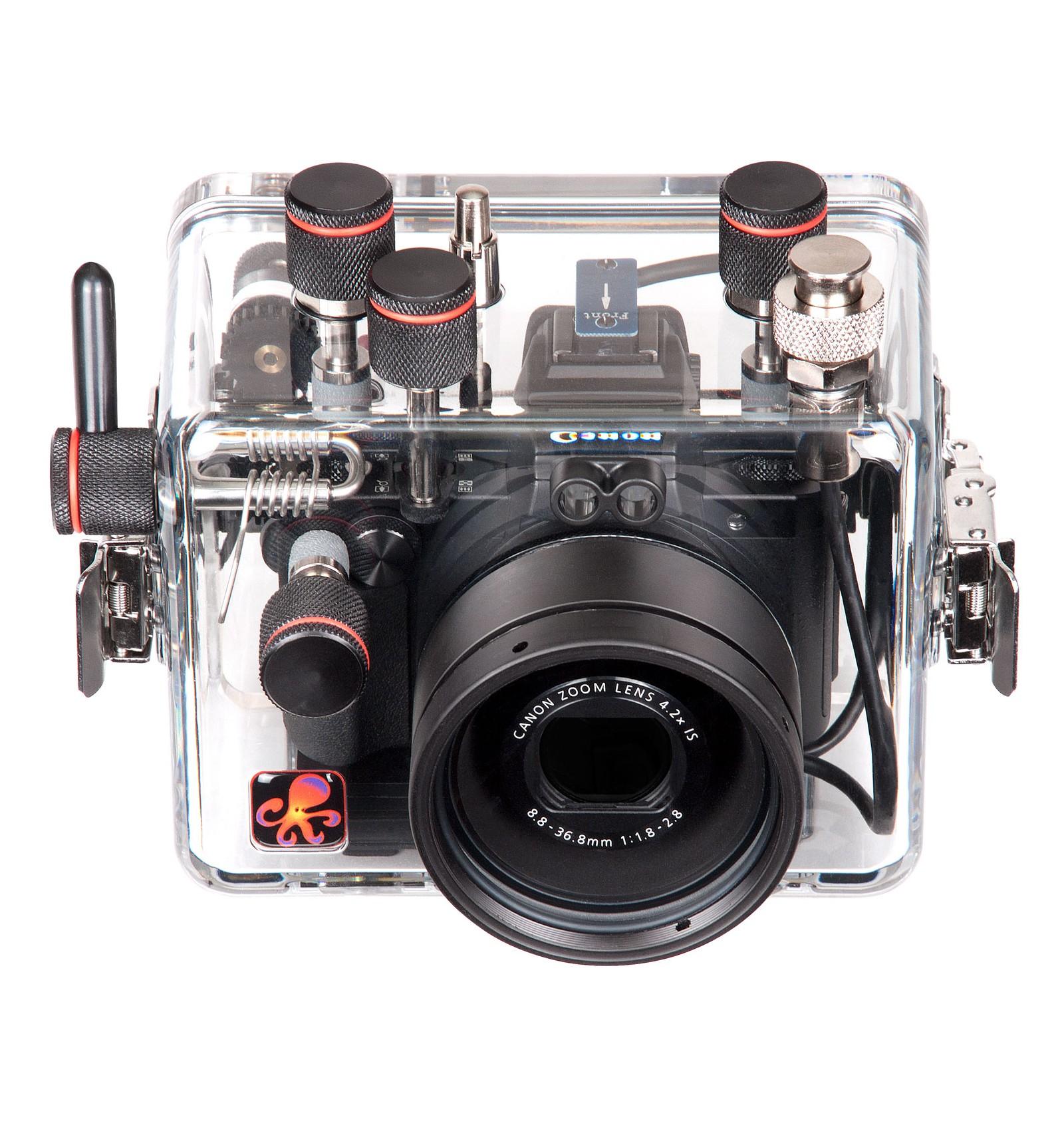 Undervandshus Til Canon G5x Danish Divers A S Powershot Kamera Pocket Housing For