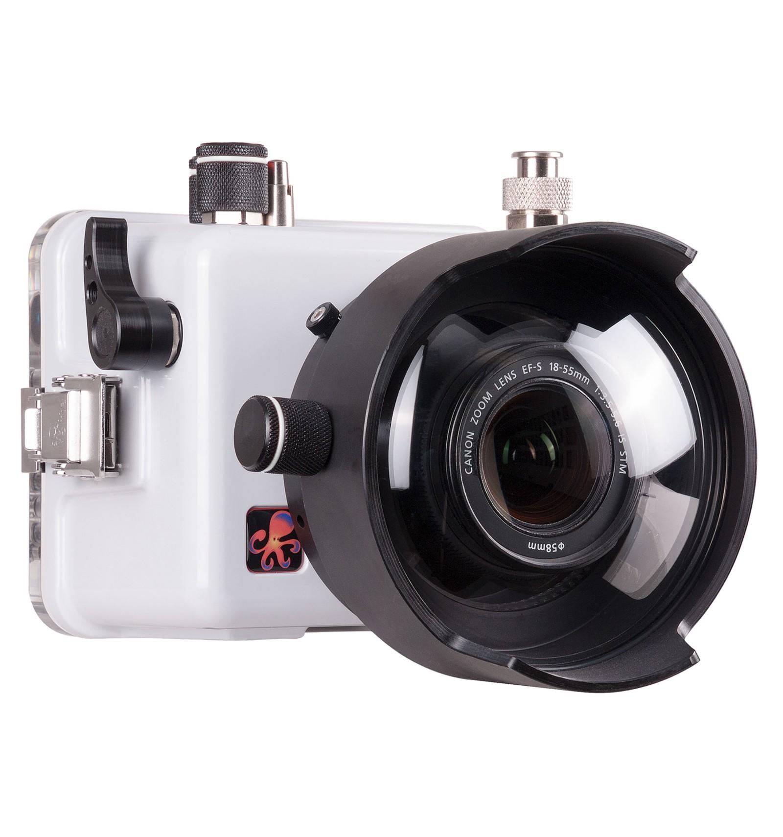 Housing For Canon Eos 100d Rebel Sl1 White Danish Divers A S Kit 18 55 Is Stm 100 D