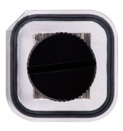 Strobe battery door DS51, AF35, clear