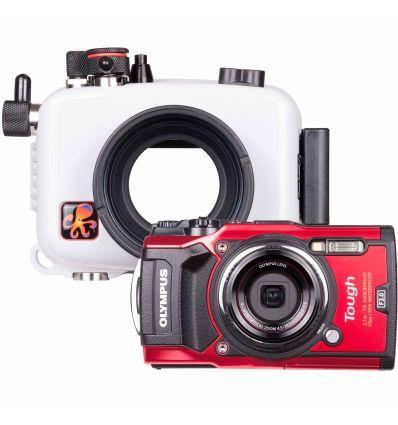 Underwater Housing and Olympus Tough TG-5 Camera Kit