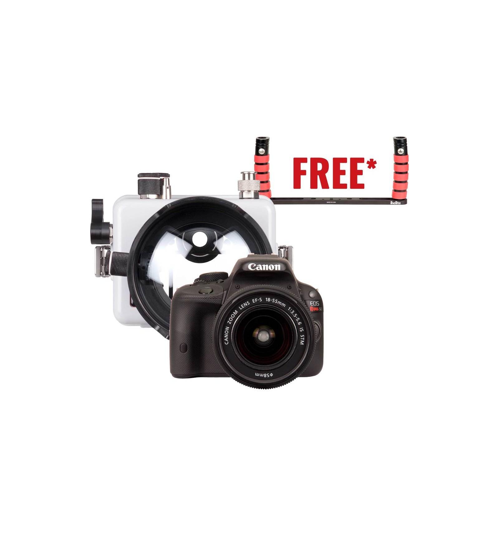 Ikelite Housing For Canon Eos 200d Rebel Sl2 Dslr Camera Kit 100d 18 55 Is Stm 100 D