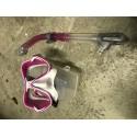 Mares X-Vision maske + Ergo Dry snorkel, Pink
